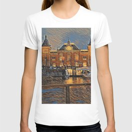 Amsterdam train station T-shirt