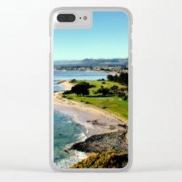 Fossli's Bluff - Tasmania Clear iPhone Case