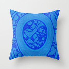 Busy Thoughts Throw Pillow
