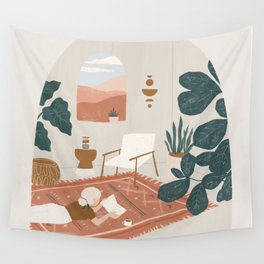 the living room rug Wall Tapestry