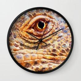 IGUANA ABSTRACT Wall Clock