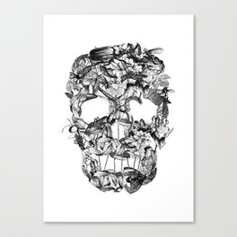 Death Nature Canvas Print