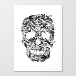 Death Nature Canvas Print