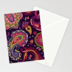 Boho Paisley Fantasy Pattern Stationery Cards