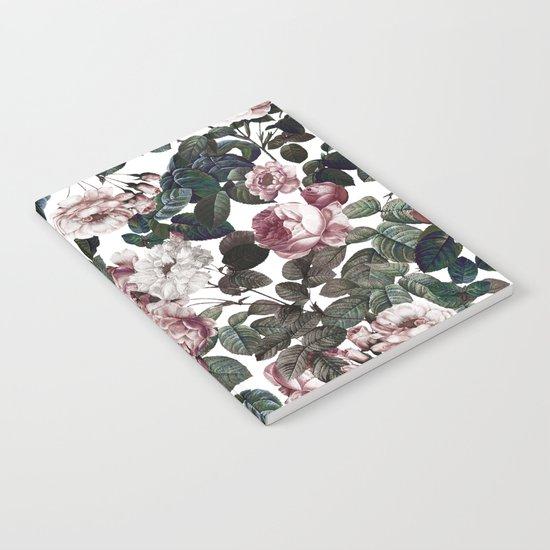 Vintage garden Notebook