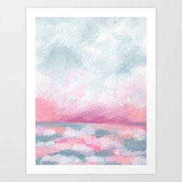 Sailors Delight - Tropical Ocean Seascape Art Print