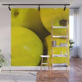 Manzanas Wall Mural