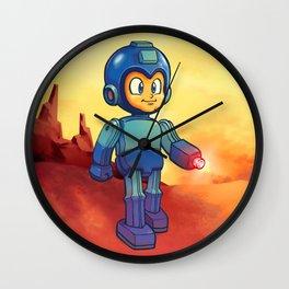 Tin Toy Mega Man Wall Clock