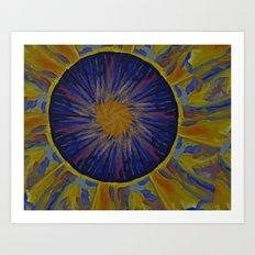 Marble World 2 Art Print