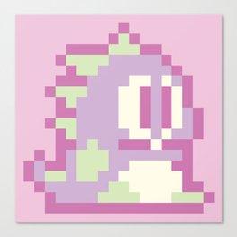 Bubble Bobble Pop - Lilac Canvas Print