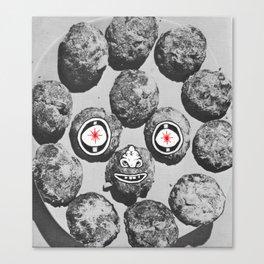 Nugget Face Canvas Print