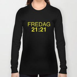 21:21 - isak and even - SKAM Long Sleeve T-shirt