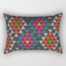 Geometric Aztec ornament Rectangular Pillow