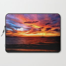 Honeymoon Sunset Laptop Sleeve