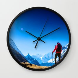 These Shapes Makes me Fly Wall Clock