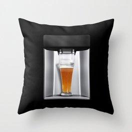 beer dispenser Throw Pillow