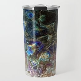 Currents 1 (Abstract Dachshund) Travel Mug