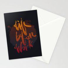 Life Before Work Stationery Cards