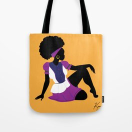 Garifuna Girl II Tote Bag