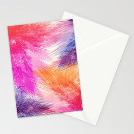 Abstact palm leaves 216 Stationery Cards