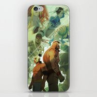 street fighter iPhone & iPod Skins featuring Street Fighter by jaimito