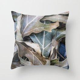 It Happens In Autumn Throw Pillow