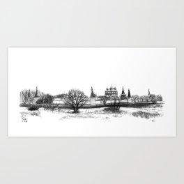 Iossio-Volotzky monastery SK0138 Art Print