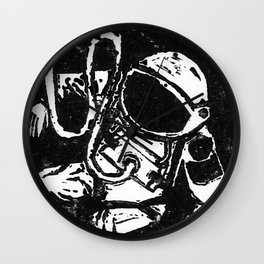 Space Man Wall Clock