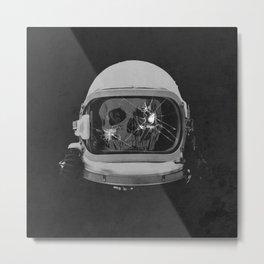 astroNOT Metal Print