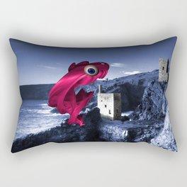 The Mine Swallower  Rectangular Pillow