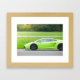 Green Gallardo Framed Art Print