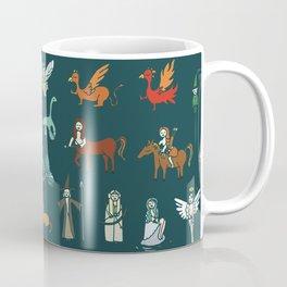Creatures pattern Coffee Mug