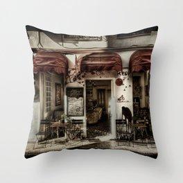 Lé Cafe Throw Pillow