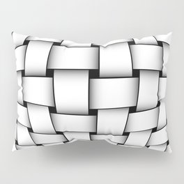 intertwined bands Pillow Sham