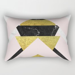 Dramatic Stripping Mixture Rectangular Pillow