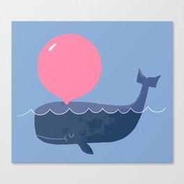 Blubber Gum Canvas Print