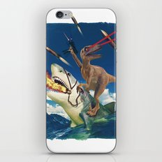 Crazy Raptor iPhone & iPod Skin