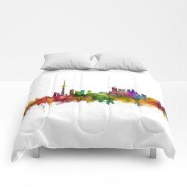 Toronto Canada Skyline Comforters