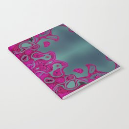 Pink lace Notebook