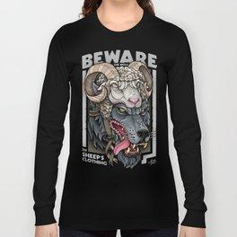 Beware The Wolf Long Sleeve T-shirt