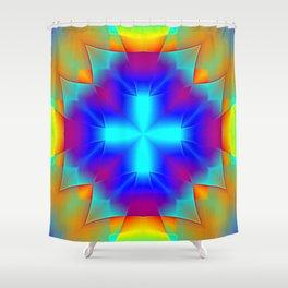 Garish  Pattern 3 Shower Curtain