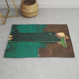 John William Waterhouse - Circe Invidiosa Rug