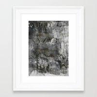 alphabet Framed Art Prints featuring Alphabet by cafelab