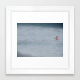 The Ocean and I Framed Art Print