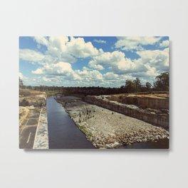 Wivenhoe Dam Metal Print