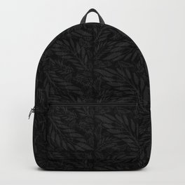 Sophisticated Black Vine Pattern  Backpack