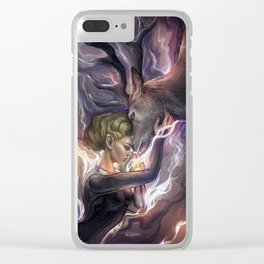 Queen of Terrasen. Clear iPhone Case