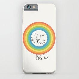 A Happy Lion iPhone Case