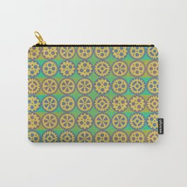Gearwheels pattern Carry-All Pouch