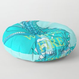 WOF The Lost Heir Floor Pillow